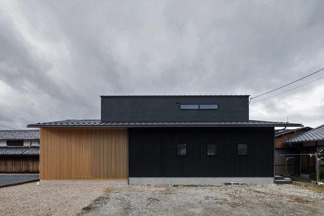 Terasho House by ALTS Design Offce in Shiga, Japan