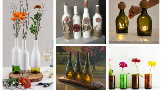 18 Really Amazing Ways To Recycle Wine Bottles