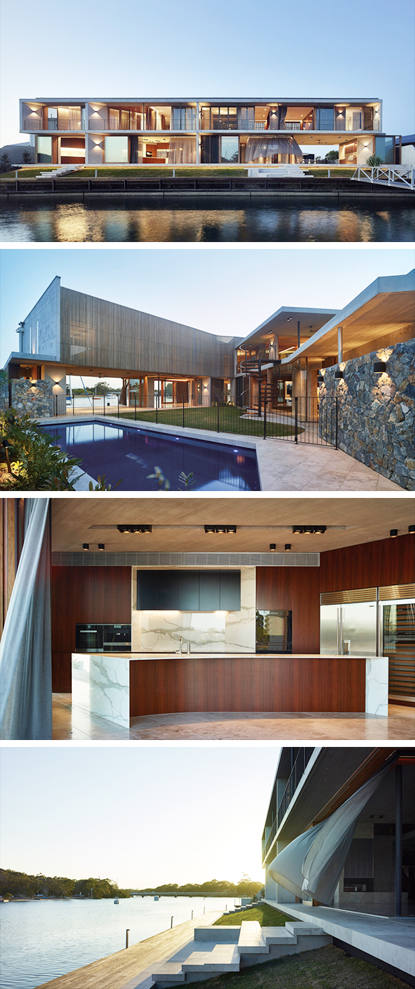 V House by Shaun Lockyer Architects in Queensland, Australia