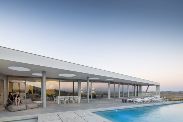 Zauia House by Mario Martins Atelier in Odiaxere, Portugal