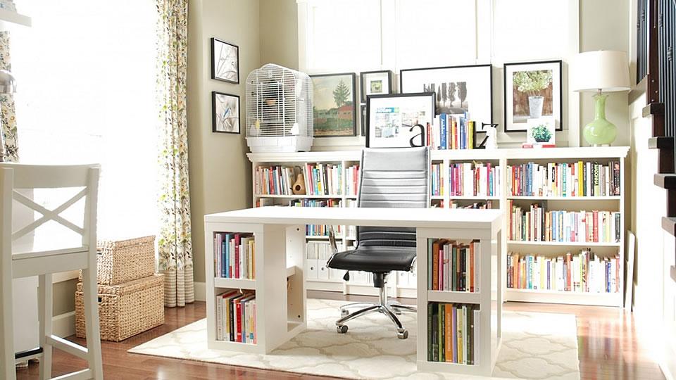 3 Home Office Storage Ideas