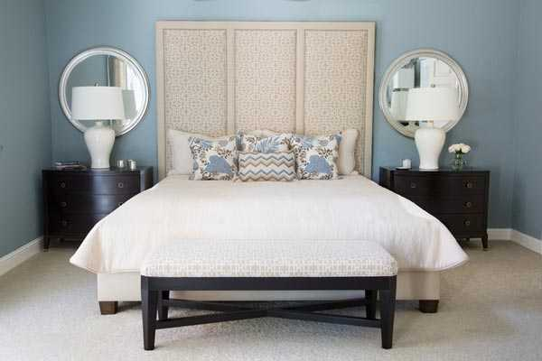 16 Fascinating Ideas For Blue Stress Free Bedroom