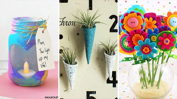 15 Awesome DIY Mother's Day Gift Ideas That Are Easy To Make