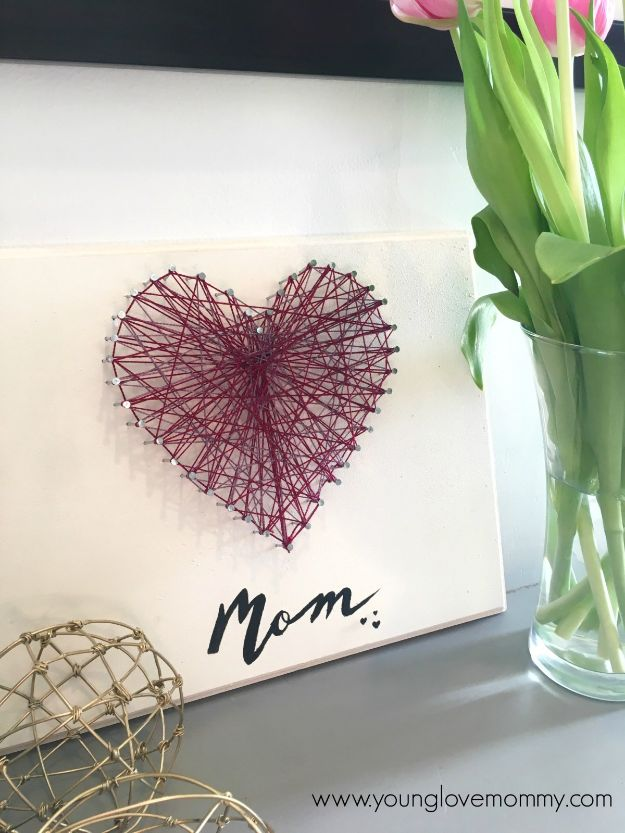 Ideas For Birthday Gifts: 15 Awesome DIY Mother's Day Gift Ideas That Are Easy To Make