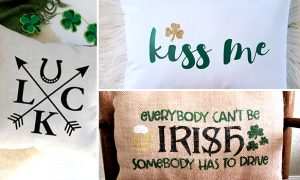 15 Enchanting Handmade St. Patrick's Day Pillow Designs That Make Great Gifts