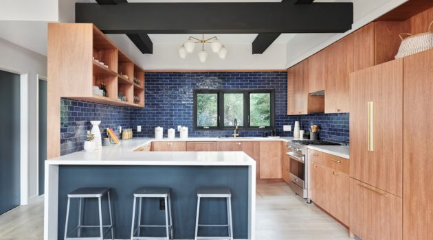 15 Superb Mid-Century Modern Kitchen Interior Designs That Will Dazzle You