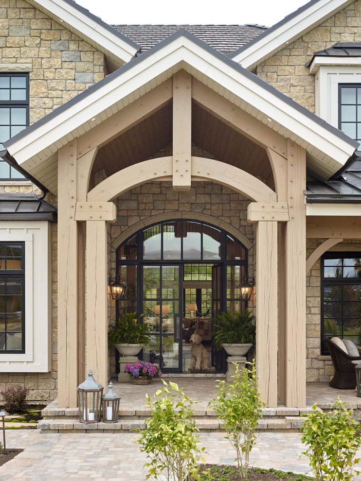 16 Beautiful Farmhouse Entrance Designs You Won't Be Able To Resist