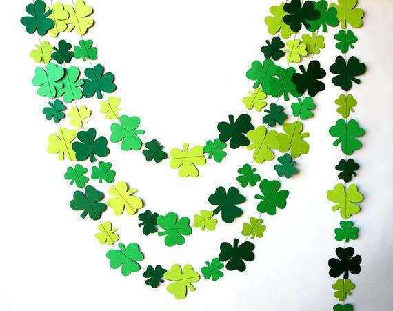 16 Charming Handmade St. Patricks Day Garland Photo Props You Just Gotta Have