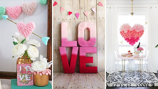 17 Perfectly Cute DIY Valentine's Decor Ideas You Have To Craft