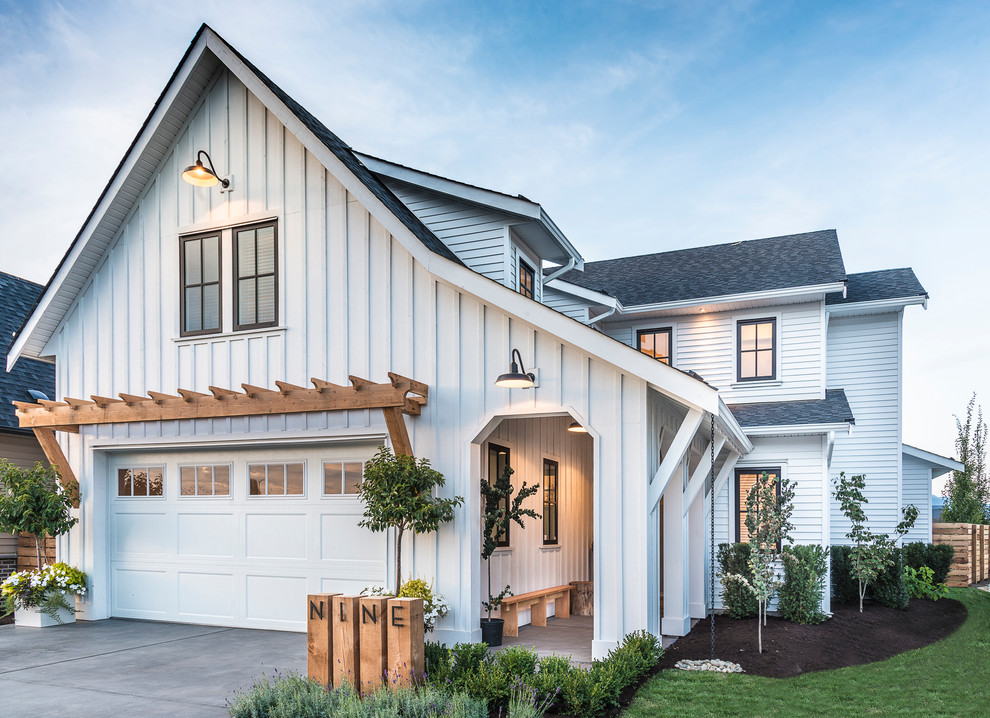 18 Beautiful Farmhouse Exterior Designs You Will Fall In
