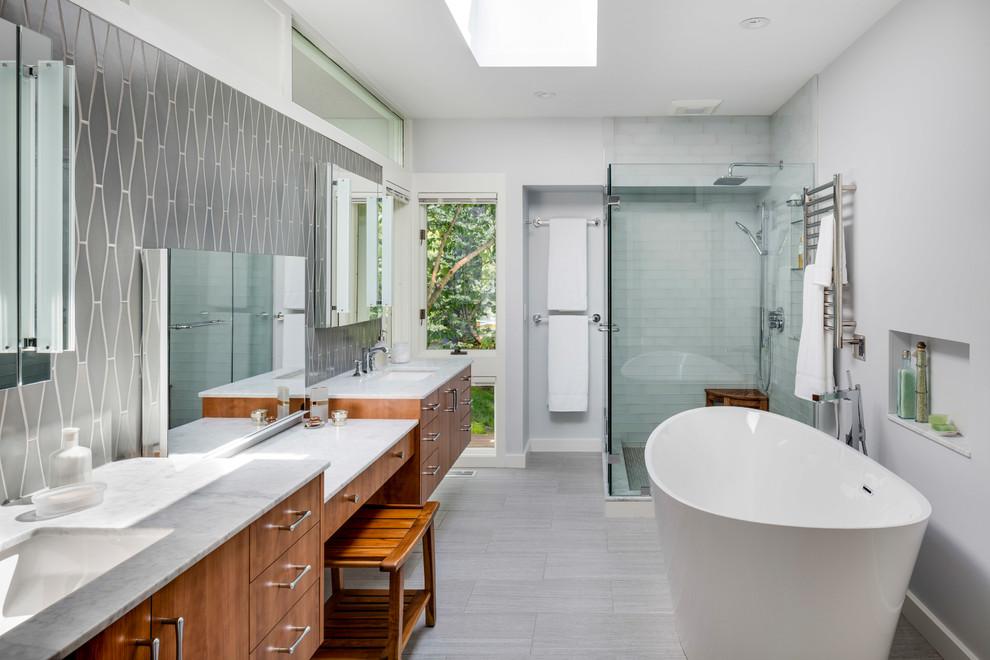 20 Imposing Mid Century Modern Bathroom Designs You Ll