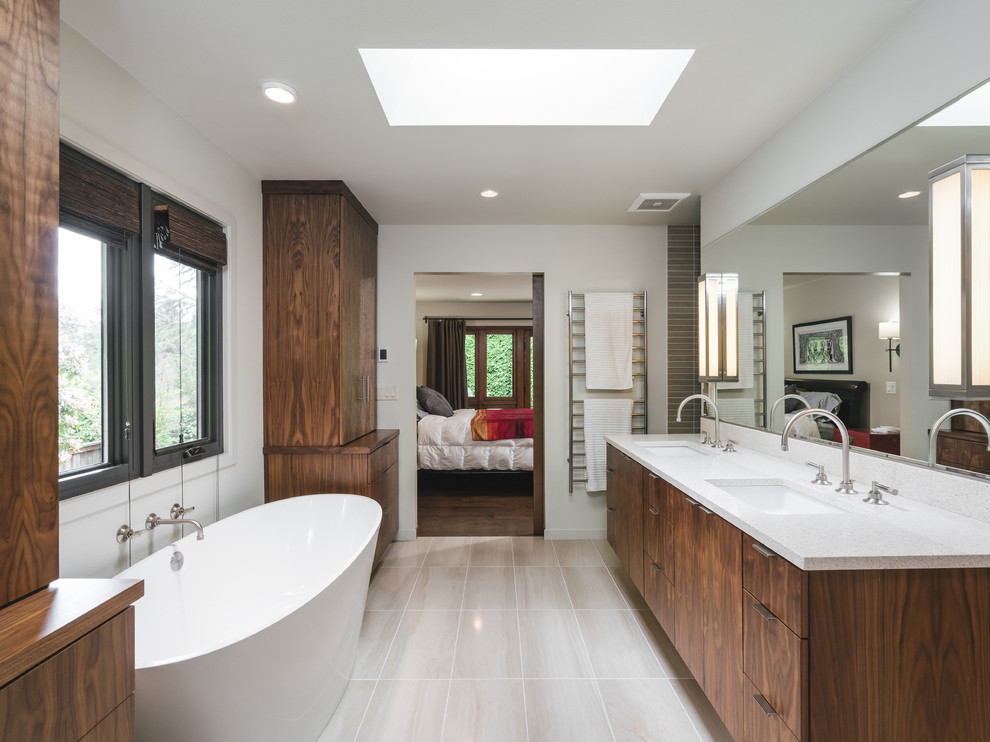 20 Imposing Mid Century Modern Bathroom Designs You Ll Fall In Love With