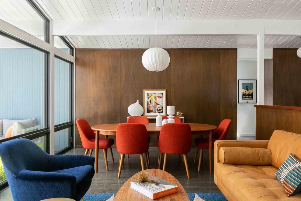 20 Pristine Mid Century Modern Dining Room Designs Youll Adore