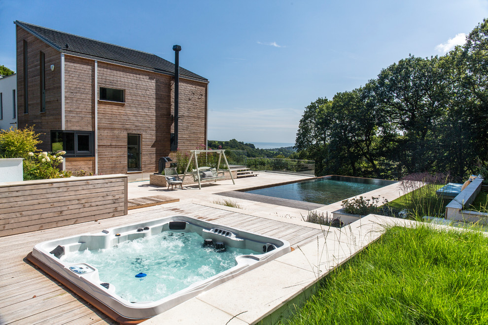 20 Sensational Farmhouse Swimming Pool Designs You Must See