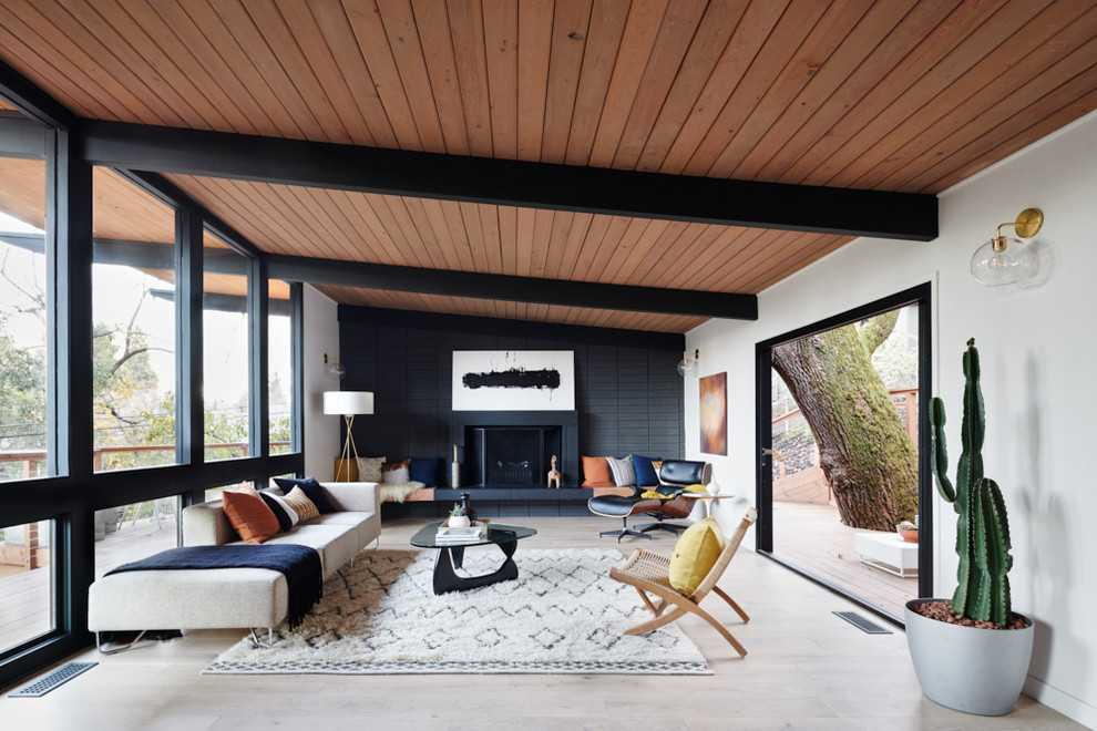 appealing mid century modern interiors living rooms | 20 Splendid Mid-Century Modern Living Room Designs You ...