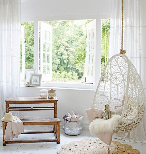 Swings In The Home  Beautiful Addition For Real Pleasure