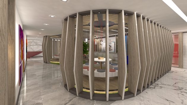 An Office Design Focusing on Employee Motivation: IMAK Ofset Management Office