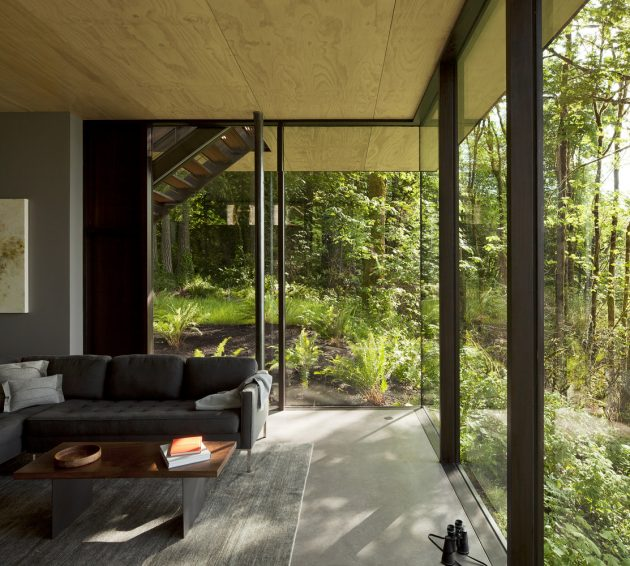 Case Inlet Retreat by MW Works in Lakebay, Washington