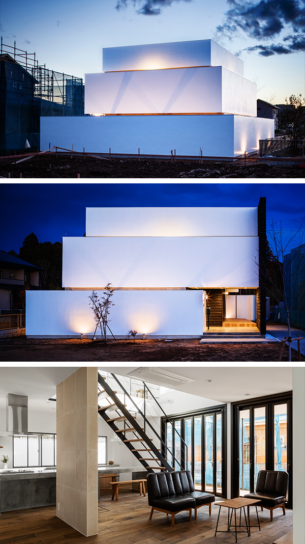 Circle House by Kichi Architectural Design in Tsukuba, Japan