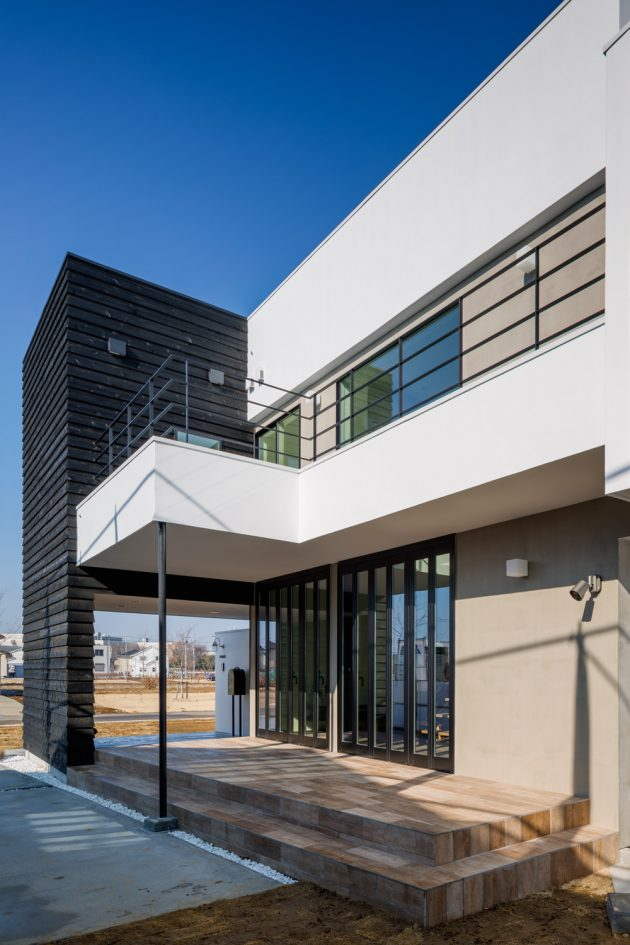 Circle House by Kichi Architectural Design in Tsukuba, Japan
