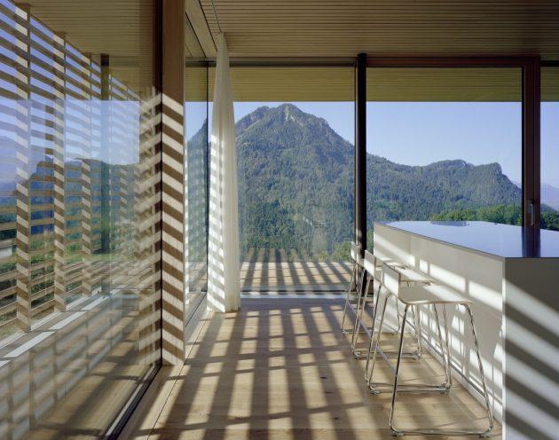 House A by Dietrich Untertrifaller Architekten in Dornbirn, Austria
