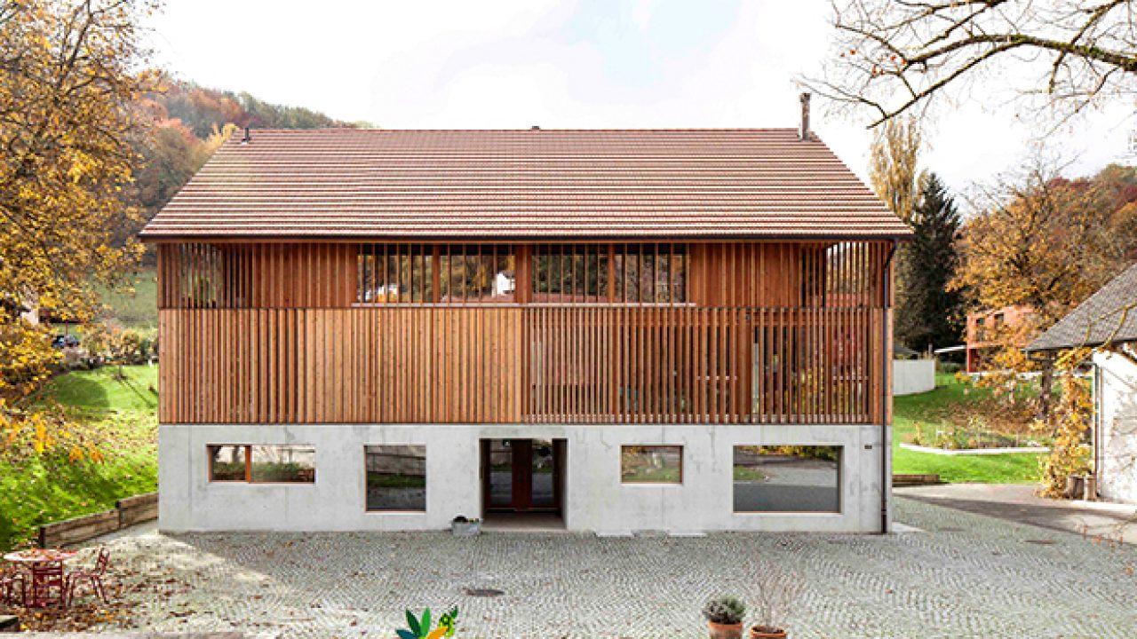 Osez L Art De La Table mill barn conversionbeck + oser architekten in switzerland