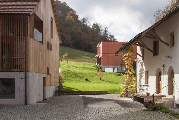Mill Barn Conversion by Beck + Oser Architekten in Switzerland