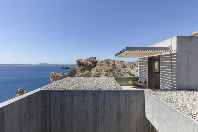 Patio House by OOAK Architects in Karpathos, Greece