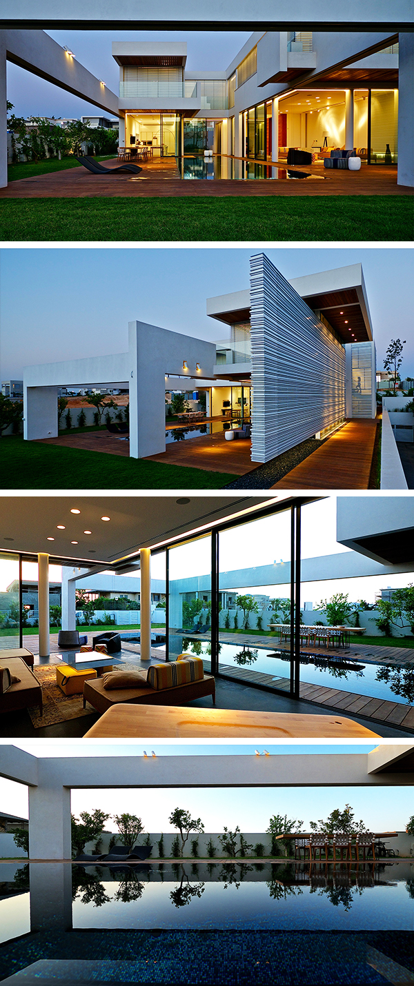 Villa C by Gal Marom Architects in Caesarea, Israel