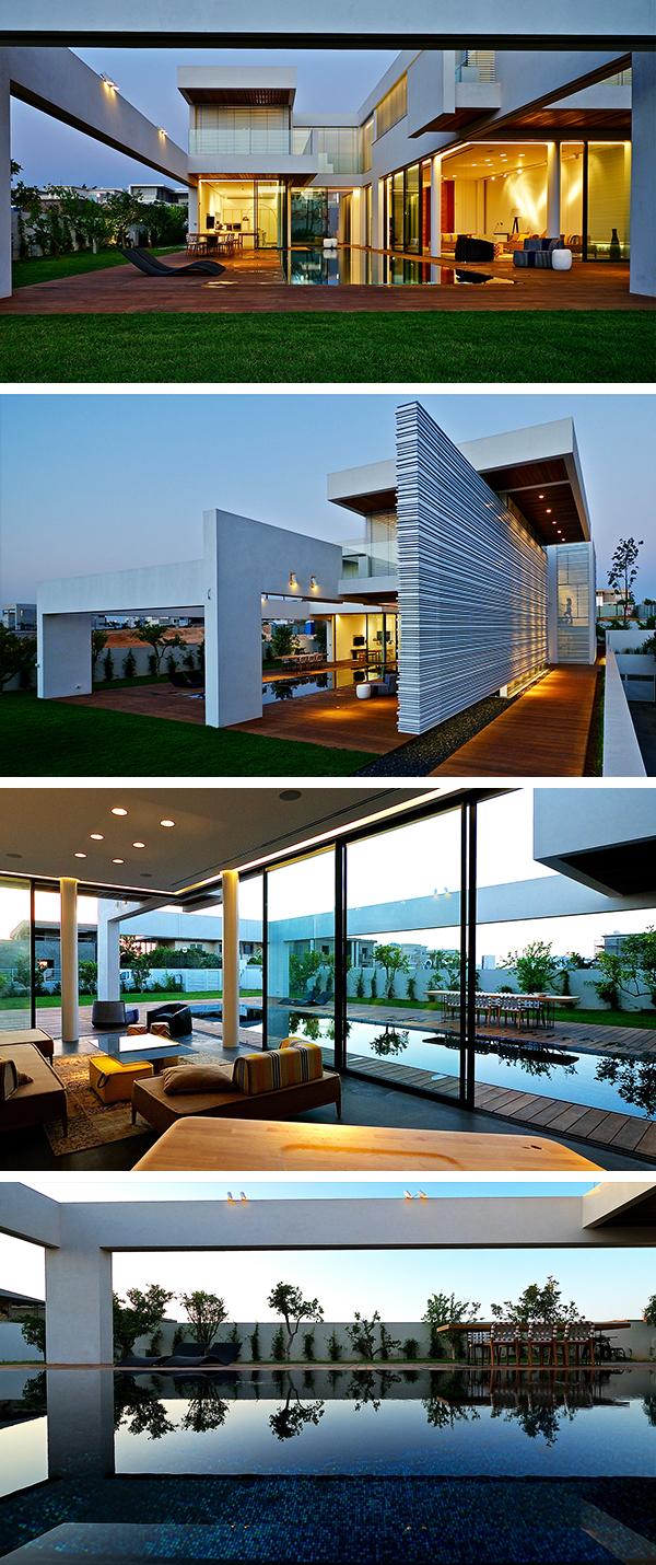 Villa C by Gal Marom Architects in Caesarea, Israel
