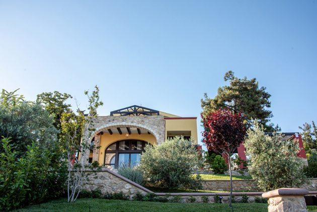 Villa by the seaside by Stella Adrimi in Kavala, Greece