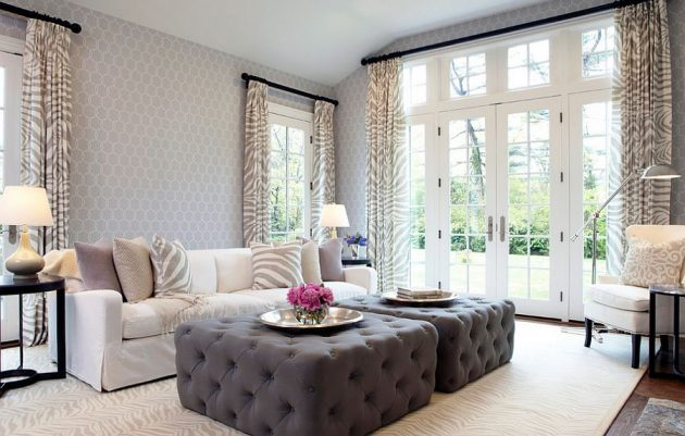 17 Magnificent Ideas For Extra Seating Space In The Living Room