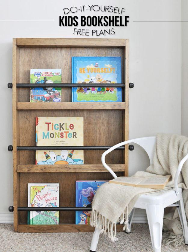 15 Charming DIY Bookshelf Ideas Youd Love To Craft