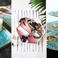 15 Charming DIY Vanity Tray Ideas You'd Love To Craft Right Away