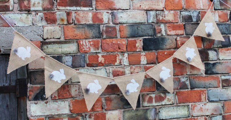 15 Charming Handmade Easter Banner Designs You'd Love To Hang