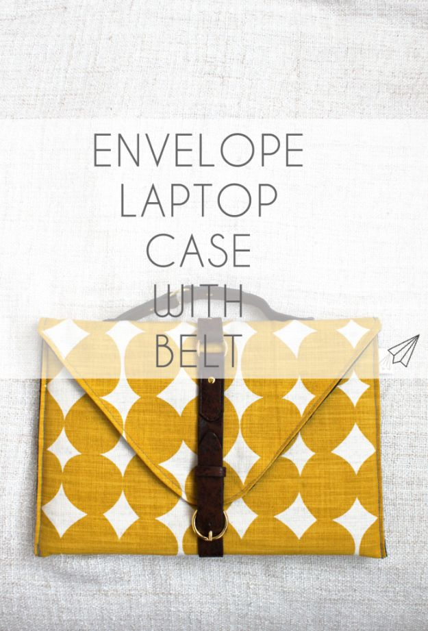 15 Chic DIY Laptop Bag Ideas To Carry Your Laptop In Style