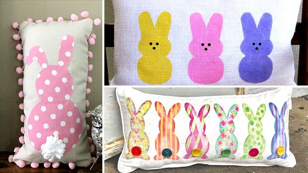 15 Cute Handmade Easter Pillow Designs For A Jolly Seasonal Decor