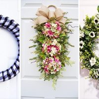 15 Cute Handmade Spring Wreath Designs You're Gonna Fall In Love With