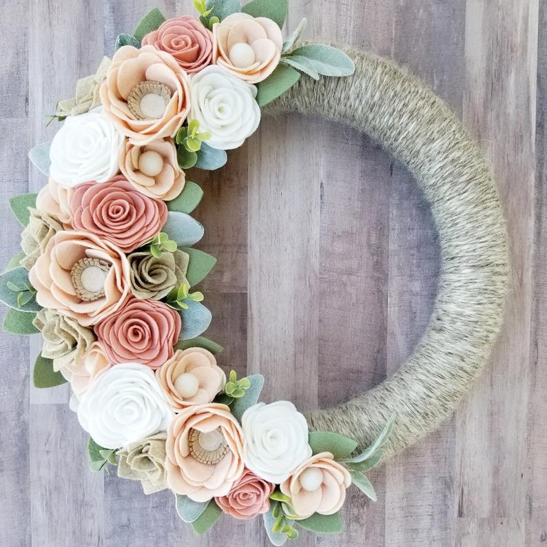 15 Cute Handmade Spring Wreath Designs You Re Gonna Fall In Love With