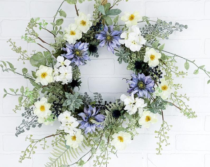 15 Cute Handmade Spring Wreath Designs Youre Gonna Fall In Love With