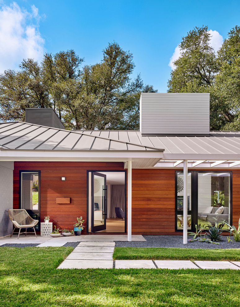 15 Fantastic Mid Century Modern Porch Designs Youll Adore