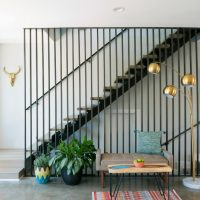 15 Stellar Mid-Century Modern Staircase Designs That Sparkle With Elegance