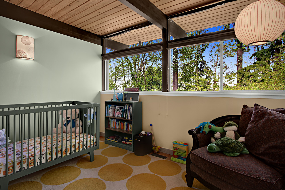 16 Charming Mid Century Modern Nursery Designs To Plan For