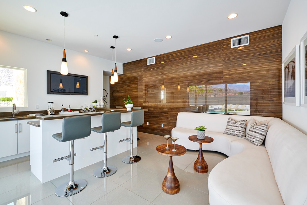 16 Outstanding Mid-Century Modern Home Bar Design You Need