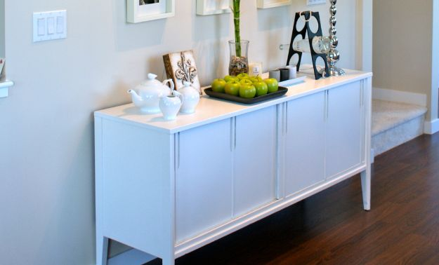 16 Stylish & Practical DIY Sideboard Projects Youre Going To Want To Craft