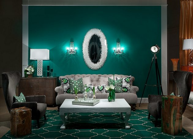 Green In The Interior- 19 Stylish & Trendy Ideas