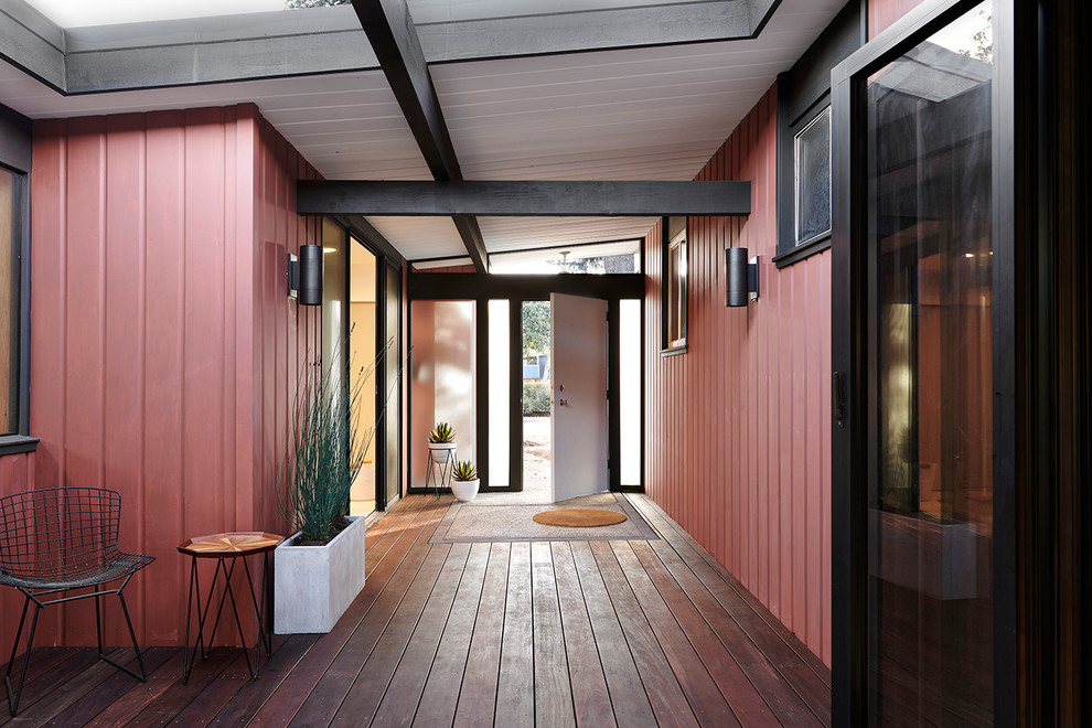 20 Staggering Mid Century Modern Entrance Designs You Cant Say No To