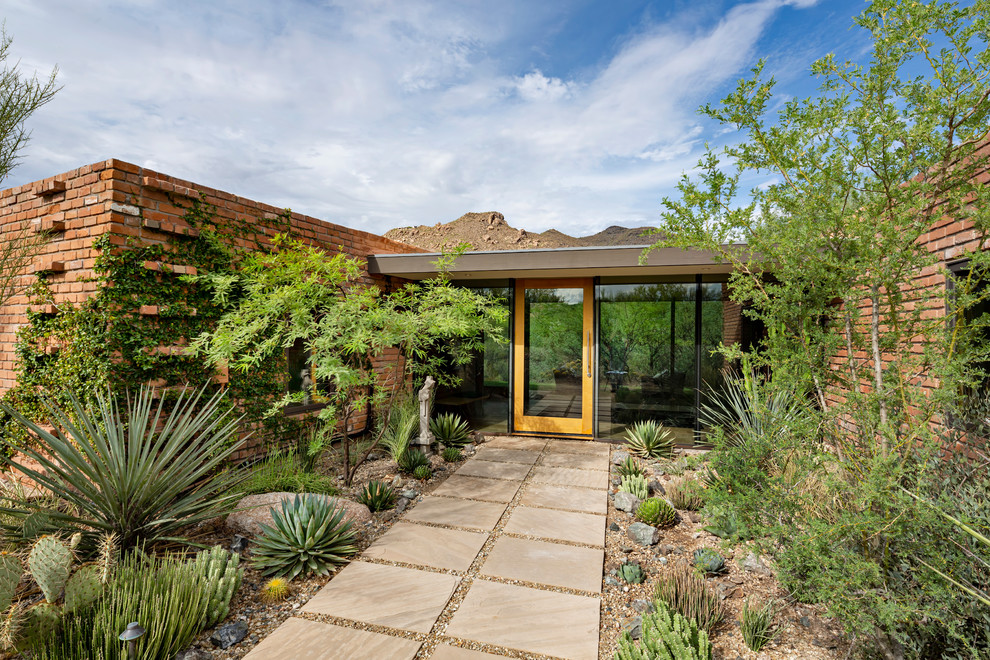 20 Staggering Mid-Century Modern Entrance Designs You Can't Say No To