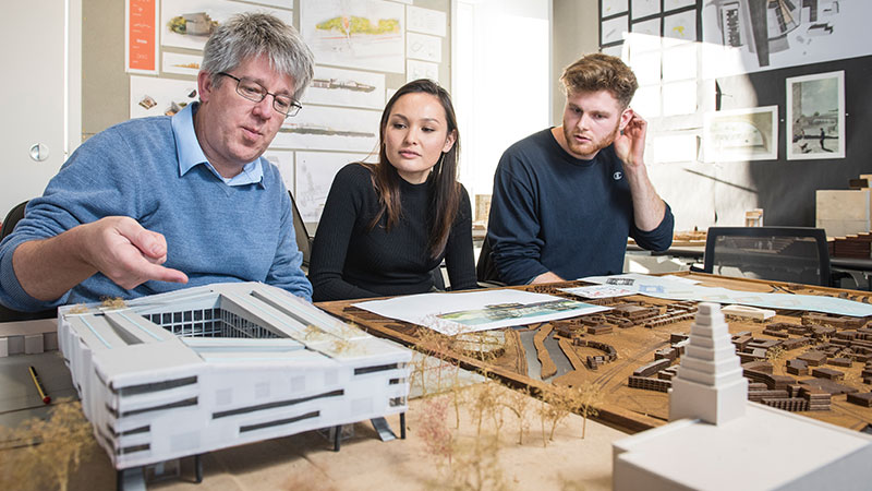 A Brief Look on the World of the Architecture Students First Assignments
