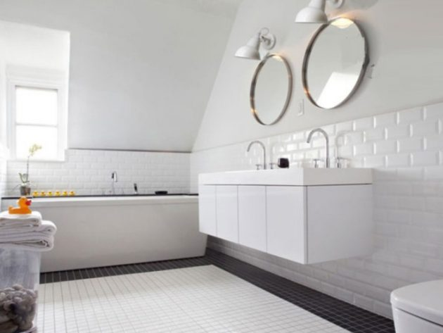 15 Creative Ways To Visually Enlarge Your Small Bathroom